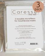 Herbruikbare filters voor mondkapjes