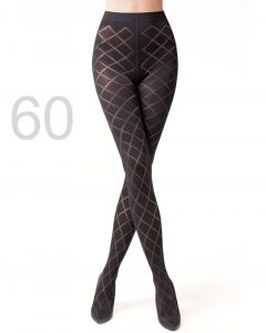 Caresse panty argyle 60