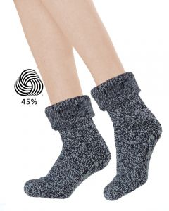 Homesocks wol met anti-slip ABS