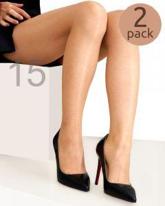 Hudson panty Simply Shine 15 2-pack