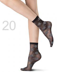 Oroblu Silver Rose sokjes