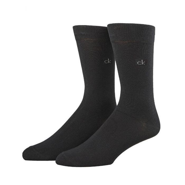 Calvin Klein cotton rich sokken 2-pack