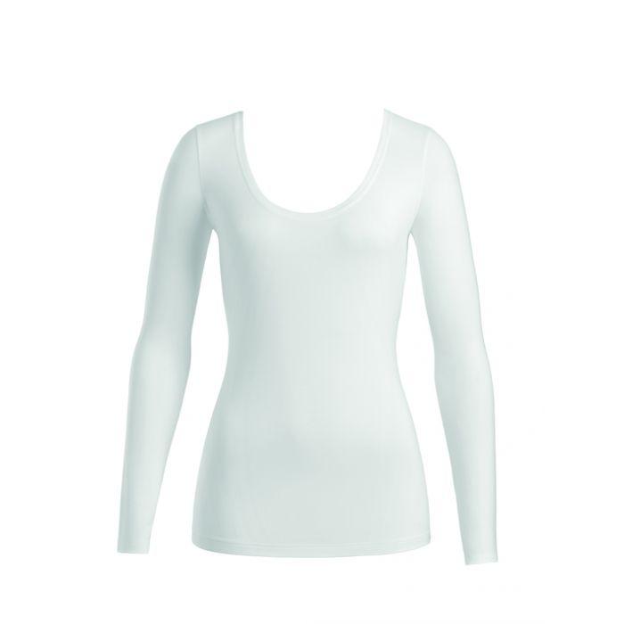 Hanro shirt Cotton Superior met lange mouwen