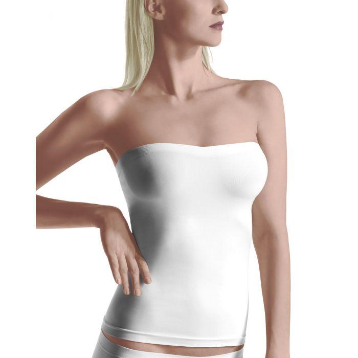 Oroblu Dolce Vita strapless top